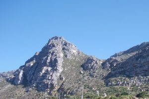 Lower Steenberg Peak from Westlake